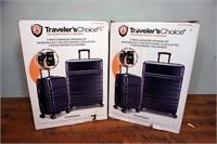 (each) Traveler's Choice 2-Piece Pomona Luggage Se