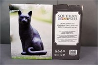 "(each) Southern Patio 14"" Cat Statue"