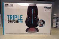 (each) Homedics Triple Comfort Pro Massage Cushion