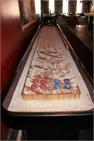 Commercial Shuffleboard Table & Accessories