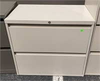 2 Drawer Lateral File Cabinet 30x18x27
