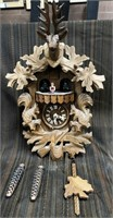366 - STUNNING GERMAN CUCKOO CLOCK