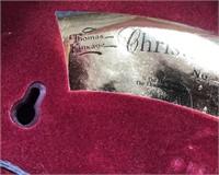 366 - THOMAS KINKADE CHRISTMAS VILLAGE WREATH