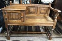 366 - NICE TABLE BENCH