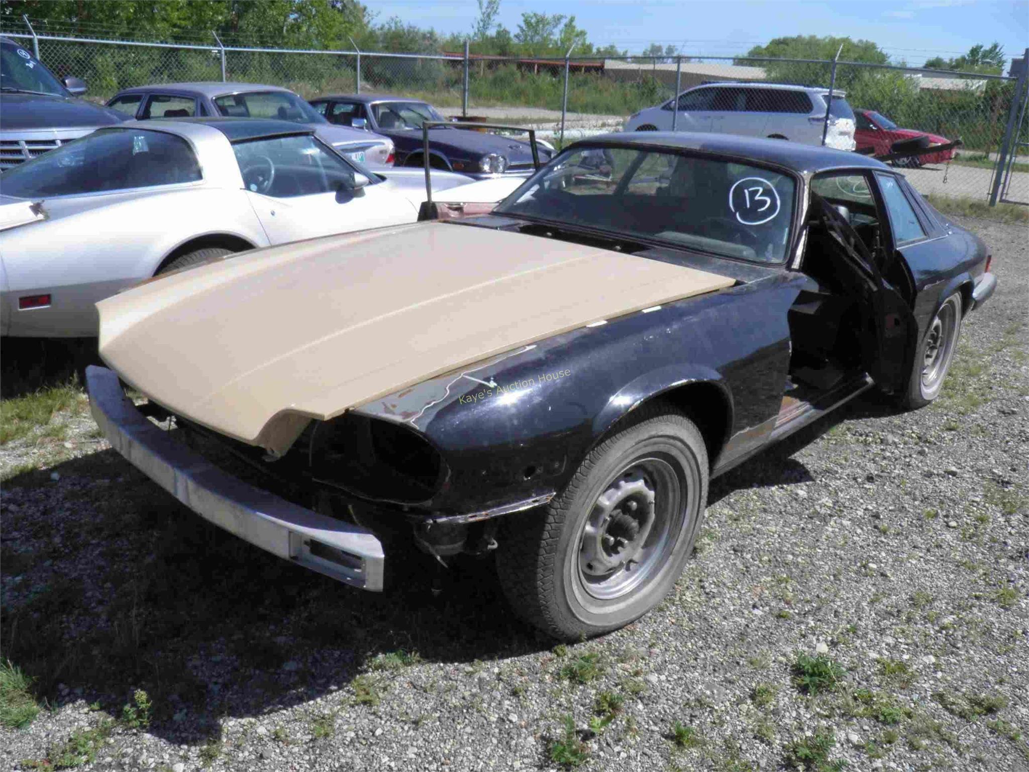 Vehicle Estate Auction Sept. 23, 2020