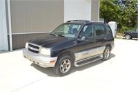 2001 Chevrolet Tracker 4x4