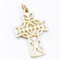 RARE James Avery 14k Gold Openwork Unity Cross