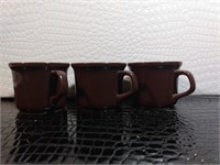 Mount Clemens Pottery mugs, regular mugs