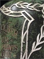 STERLING ON BRONZE PAT. AUG 27.12 ROBERT M OLIVER