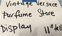 "VINTAGE VERSACE PERFUME STORE DISPLAY 11"" TALL"
