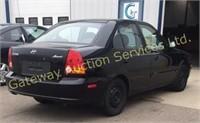 2004 Hyundai Accent 4 Door Car