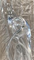 D - MODERN BRUTALIST METAL & GLASS SCULPTURE