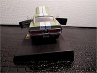 Green and White 1968 Shelby GT-500KR Diecast