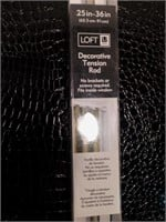 Two Loft Umbra Decorative Tension Rods