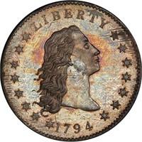 $1 1794 PCGS SP66 CAC