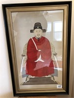 58 - PAIR OF FRAMED ORIENTAL PICTURES