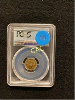 2017 First Day of Issue PCGS MS70 $5 Gold