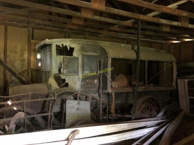1921 Model T Huckster Auction - Located in St. Louis County