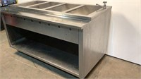 4 Bay Stainless Steel Warmer