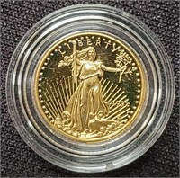 GOLD $5 DOLLAR AMERICAN EAGLE COIN  (21)