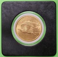 GOLD 1908 $20 DOLLAR AMERICAN EAGLE COIN (26)