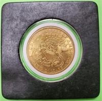 GOLD 1904 $20 DOLLAR COIN (27)