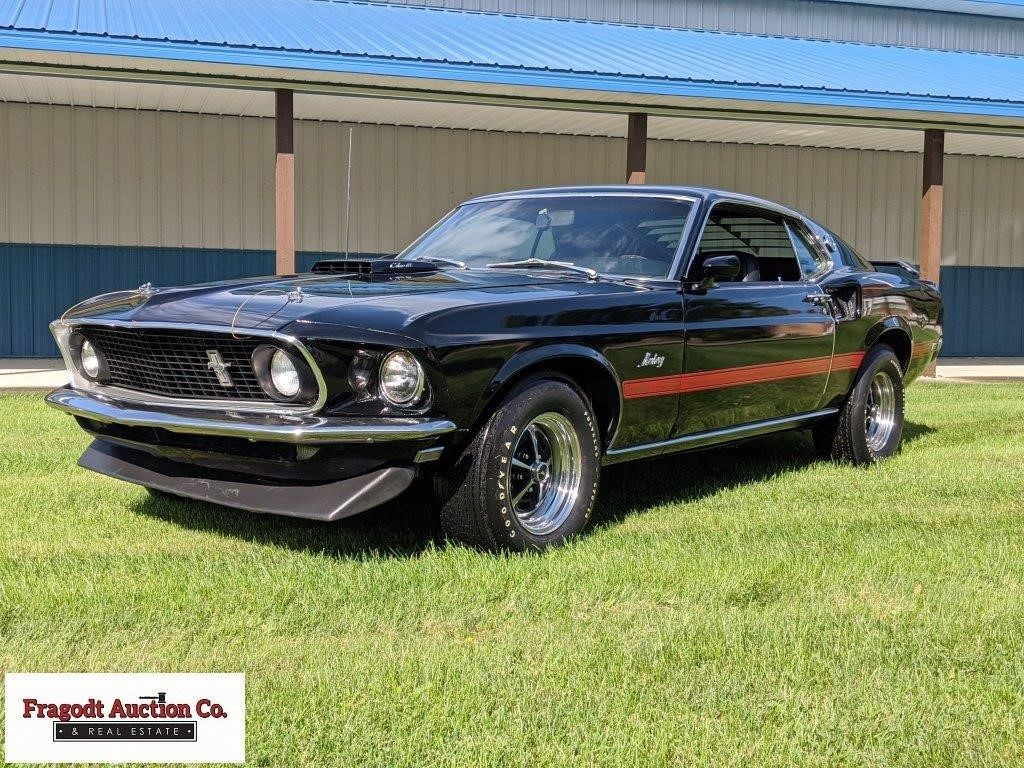 1969 Ford Mustang Mach 1 R code original stock 428