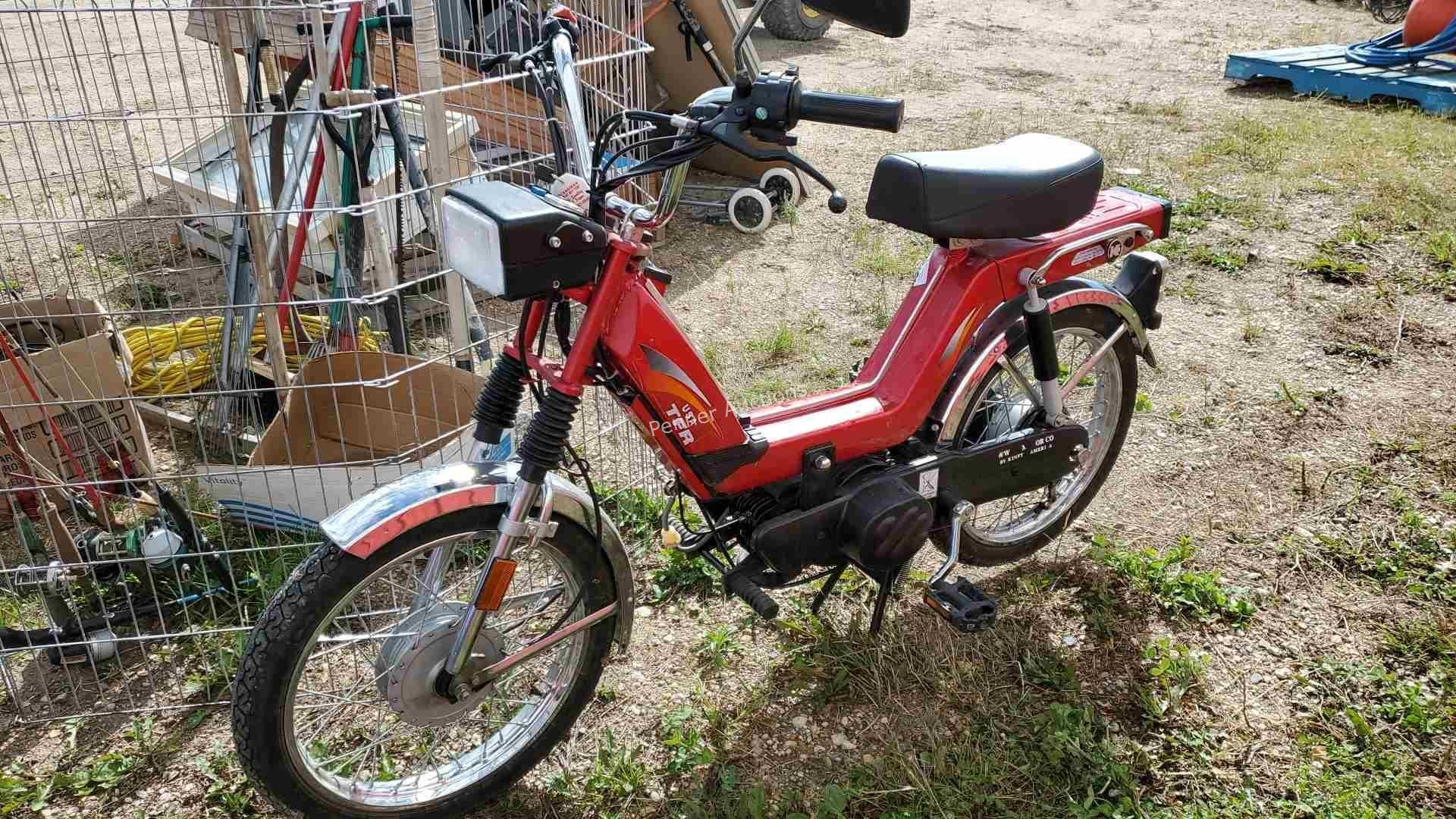 TFR 49cc Moped