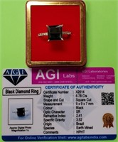 361 - STERLING SILVER .925 RING W/ CERT