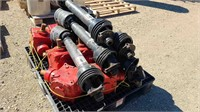Westfield Auger,Gear Boxes cw: PTO Shafts