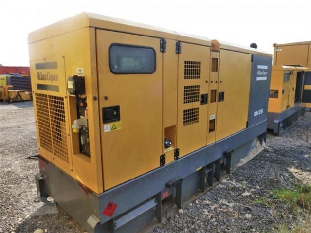 2013 ATLAS COPCO QAS250 at www.used-compressors.co.uk