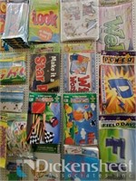 Banner assortment as photographed. One bid buys