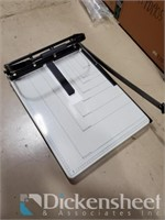 """17x21"""" Paper Cutter w/ 4-hole punch, Qty 8 One"""