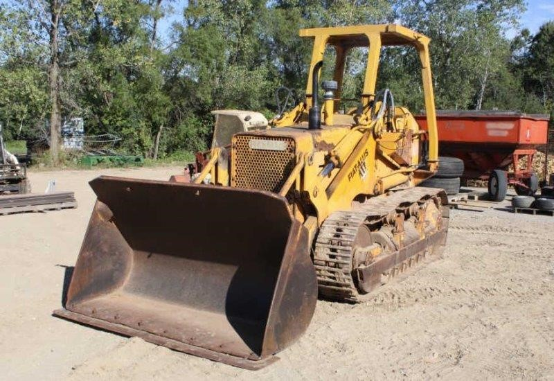 fiat allis fl10 b track loader 7ft bucket smith sales llc smith auctions