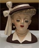 Vintage Head Vase Planter