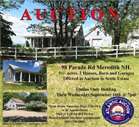 98 Parade Rd, Meredith, NH Real Estate Online Auction