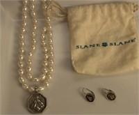 Slane & Slane Pearl Necklace