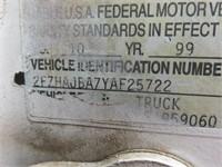 (DMV) 2000 Sterling L7500 Roll Back Tow Truck