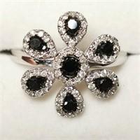 $4600 14K  Diamond(0.88ct) Ring