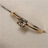 $1805 14K  Diamond(0.2ct) Ring