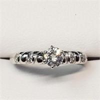 $3500 10K  Diamond(G-H, SI, 0.40ct) Diamond(G-H, S