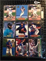 Lot of 19 Collectible Baseball Cards