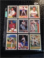 Lot of 11 Collectible Baseball Cards