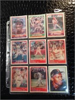 Lot of 9 Collectible Baseball Cards