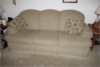 Broyhill 3 Cushion Sofa/Couch