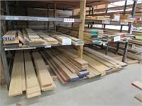 Five bins -  Misc. Large Wood Stock