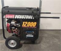 Coleman Industrial 12,000 Watt Generator