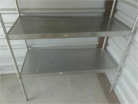 Stainless Shelving Unit