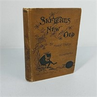 "1893 Mark Twain ""Sketches New and Old"""
