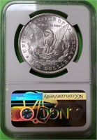 "1887 ""MS64"" - MORGAN SILVER DOLLAR (38)"